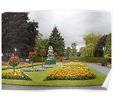 Oswestry Park Shropshire UK Poster