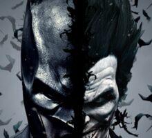 Batman and Joker  Sticker
