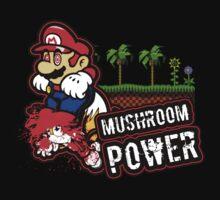Mushroom Power by Rodrigo Marckezini