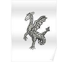 Percival the friendly Dragon Poster