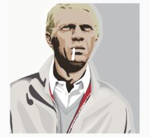 Steve McQueen by drawgood