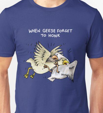 Geese Bumps Unisex T-Shirt