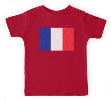 France Flag Mosaic Kids Tee