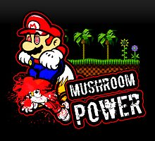 Mushroom Power (Print Version) by Rodrigo Marckezini