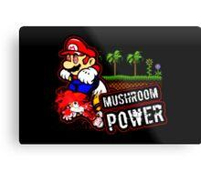Mushroom Power (Print Version) Metal Print
