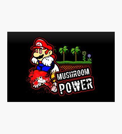 Mushroom Power (Print Version) Photographic Print