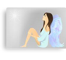 angel watch the star Canvas Print