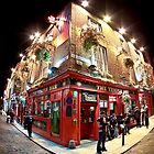 Bright Lights, Big City - Temple Bar - Dublin by Mark Tisdale