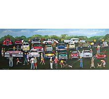 Classic Car Show Photographic Print