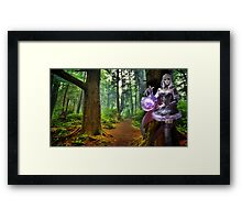 In The Moon I See Everything Framed Print