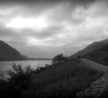 The Dark Side Of The Lake District- Wast Water by Lou Wilson