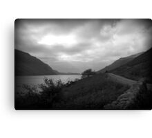 The Dark Side Of The Lake District- Wast Water Canvas Print