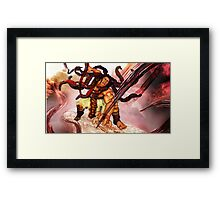 Necalli - Street Fighter V / Street Fighter 5 - New Character Framed Print