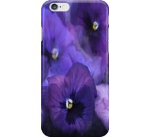 """""""Purple Pansy iPhone Cover..."""" iPhone Case/Skin"""