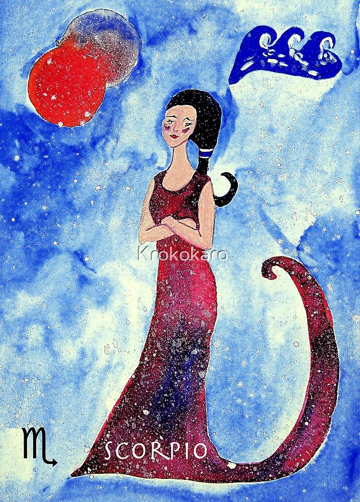 Scorpio * 24 October - 22 November * element water * planet Mars&Pluto * profound, headstrong, loyal * by Krokokaro