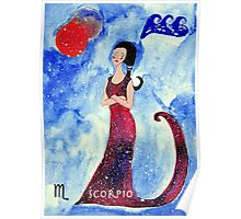 Scorpio * 24 October - 22 November * element water * planet Mars&Pluto * profound, headstrong, loyal * Poster
