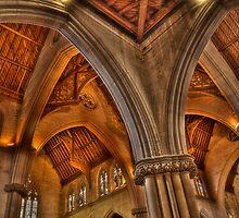 St Saviours Interior by Dianne English