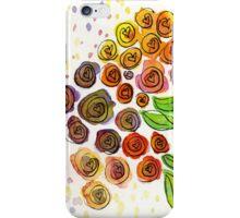 Watercolor Flower Bunch iPhone Case/Skin