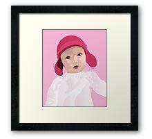 Funky Lily Bub Framed Print
