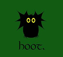 Hoot. by happybiscuit