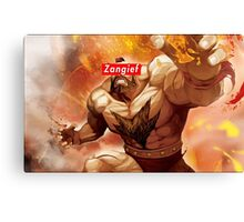 Zangief - Street Fighter - Supreme Canvas Print