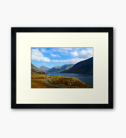 Wast Water- Lake District National Park Framed Print