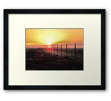 Good Morning Sunshine- dedicated to myself Framed Print
