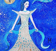 Pisces * 20 February - 20 March * element water * planet Neptun * sensitive, creative, compassionate * by Krokokaro
