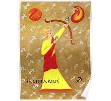 Sagittarius * 23 November - 21 December * element fire * planet Jupiter * energetic, idealistic, adventurous * Poster