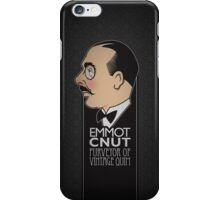 Emmory Cnut - Purveyor of Vintage Quim iPhone Case/Skin