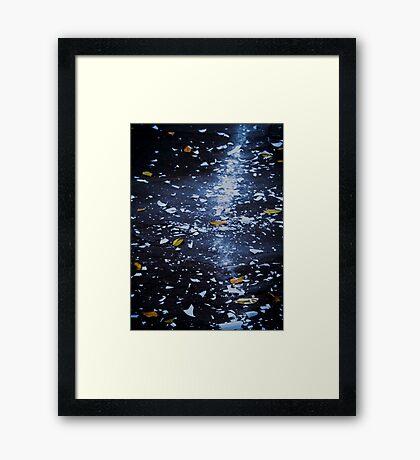 Trail of Shattered Light Framed Print