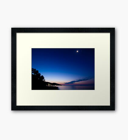 Tranquil Dawn Framed Print