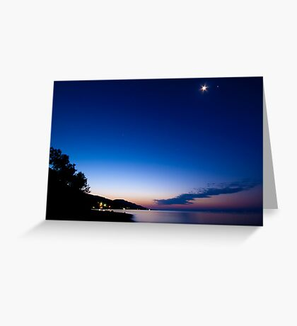 Tranquil Dawn Greeting Card