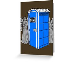 The Angels Have the Wrong Box! Greeting Card