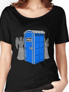 The Angels Have the Wrong Box! Women's Relaxed Fit T-Shirt