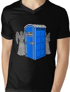 The Angels Have the Wrong Box! Mens V-Neck T-Shirt