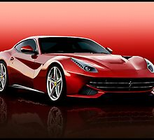 Ferrari F12 by Andrew Wells