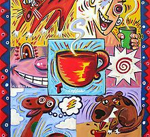 'THE CAFFEINATED WORLD' by Jerry Kirk