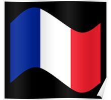 France Flag Wave Poster