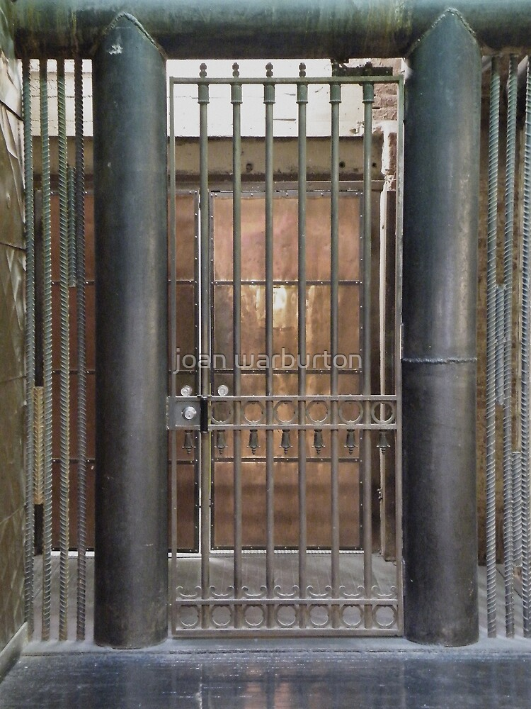 Door Number One by joan warburton