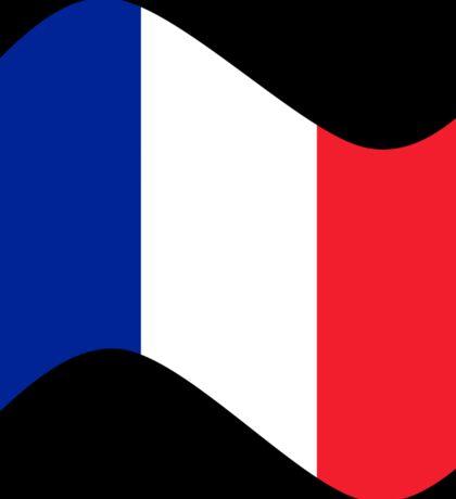 France Flag Wave Sticker