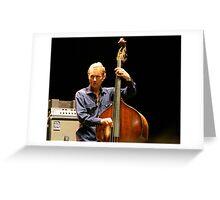 Chris Wood--Portrait Greeting Card