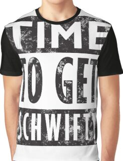 Rick and Morty Get Schwifty Lyrics Print Graphic T-Shirt