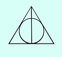 Deathly Hallows Harry Potter by eatorcs