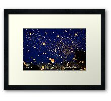 Chinese Lanterns 4 Framed Print