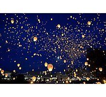 Chinese Lanterns 4 Photographic Print