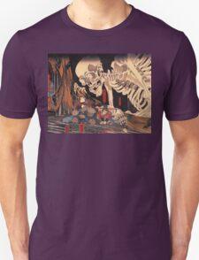 Old Japanese Art / Painting - Ukiyo-e - Skeleton - Demon Unisex T-Shirt