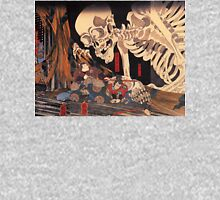 Old Japanese Art / Painting - Ukiyo-e - Skeleton - Demon Unisex T-Shirt