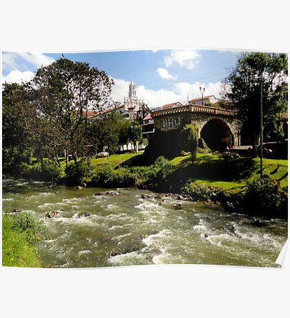 Cuenca Landmarks Poster