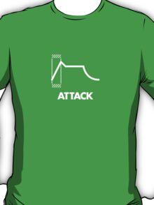 ADSR - Attack (White) T-Shirt